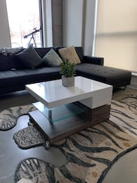 Modern Coffee Table w/swivel feature