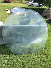 Round glass 54 inches across 1/2 inch thick  Boaz, 35956