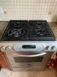 Stainless Steel Kitchen Aid Gas Stove Vancouver