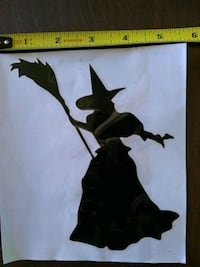 Wicked witch decal Johnson City, 37601