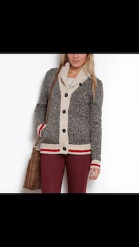 Roots Cabin Sock Cardigan (Size M) London