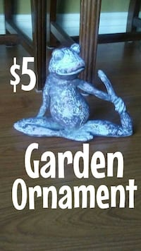 Yoga Frog Ornament 6 inches tall