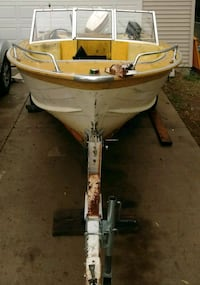 Boat with 70hp johnson outboard Zimmerman, 55398
