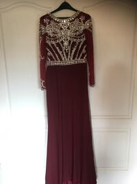 BNWT Stunning Dress with Crystal Embroidery Mississauga, L4Z 4A1