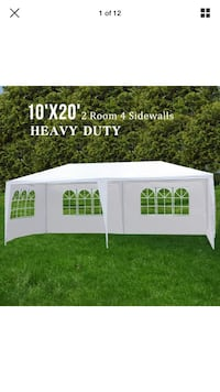 Out side party tent 10*20 (new in box ) Duluth, 30096