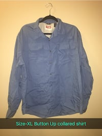 blue button-up long-sleeved shirt Nampa, 83651