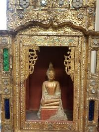 Antique Thai inscribed buddha Concord