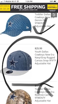 Youth Cowboys hat