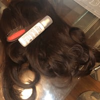 Fake hair extended with comb and solution 蒙特利尔, H3H