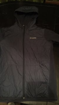 black The North Face zip-up jacket Chicago, 60620