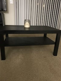 rectangular black wooden coffee table Tempe, 85282