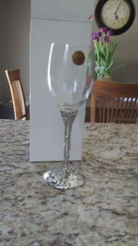 "Seagull pewter ""grapes"" wine glasses Newmarket, L3Y 6G7"