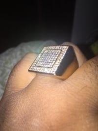 iced out ring  Mississauga