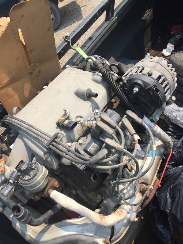 gray car engine