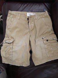 Brand New Mens Abercrombie and Fitch Cargo Shorts Size 34 New York, 11436