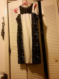 Black & white calvin klein dress Temple Hills, 20748