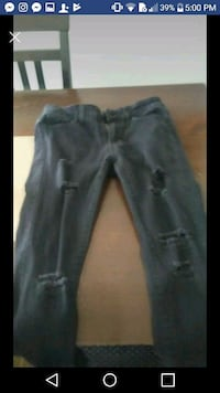women's black denim jeans screenshot Longueuil, J4L