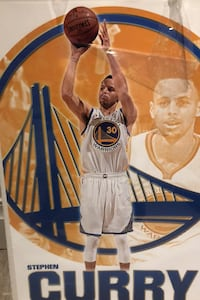 Steph curry limited poster Toronto, M6G