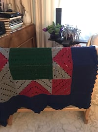 "Blanket. Handmade. Size 80"" x 76"" perfect size for two Toronto, M8Y 2T3"