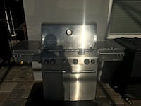 Stainless steel 4-burner gas grill Parrish, 34219