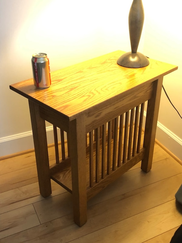Mission Oak end tables