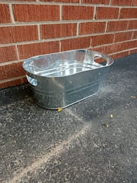 Large metal planter / beer tub Toronto, M9P