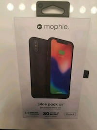 Mophie Juice Pack Air for iPhone X Jacksonville, 28546