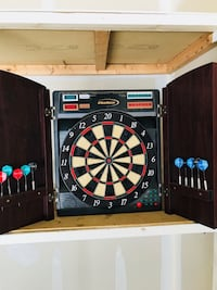 black and brown dart board Alexandria, 22314