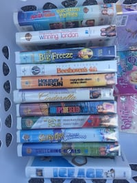 VHS movies - $1 each Mississauga, L5V