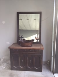 Country Vanity with Mirror VANCOUVER
