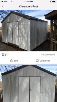 Black and white wooden shed screenshot Cleveland, 38732
