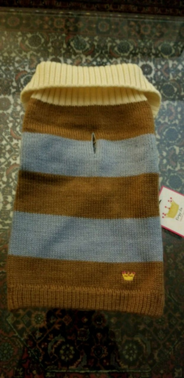 100% Wool sweater for dogs