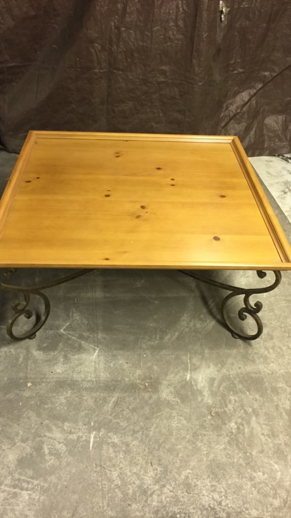 Used Ethan Allen Coffee Table Scroll Legs For In East Hanover Letgo
