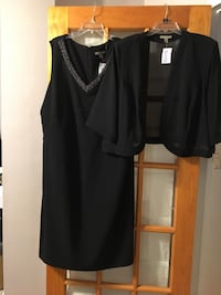 Black neck embroidered dress- Size 22/24 Alexandria, 22307