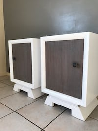 Beautiful Refinished End Tables / Nightstands  Salt Lake City, 84106
