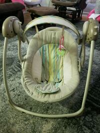 baby's gray and white portable swing Toronto, M1L 1J2