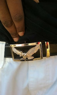 black leather eagle logo belt Huntsville, 35816