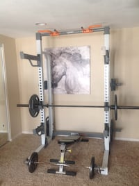 Multipurpose cage pro HR 500, weights and bench are not included. Riverside, 92503