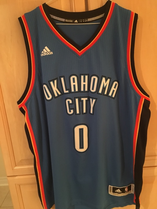 6051b5160 Used Russell Westbrook Oklahoma City Thunder NBA Jersey for sale in ...