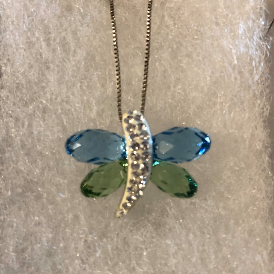 Luminesse butterfly necklace