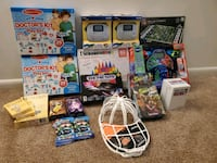 mixed toys for children estimated at $ 397 dollars.  Now at $ 210.  Ne Dundalk, 21222