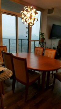 TEAK TABLE AND 6 CHAIRS Mississauga