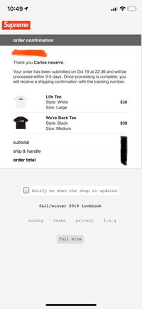 Supreme tees New York, 10303