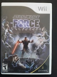 Nintendo Wii Star Wars the Force Unleashed  Vaughan, L4L