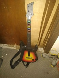 Guitar hero sunburst wireless guitar controller
