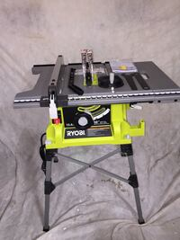 Ryobi TableSaw Model RTS21G with Stand