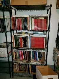 4 Black wire storage shelves  West Hollywood, 90048