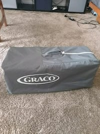 gray and black Graco pack n play Frederick, 21702