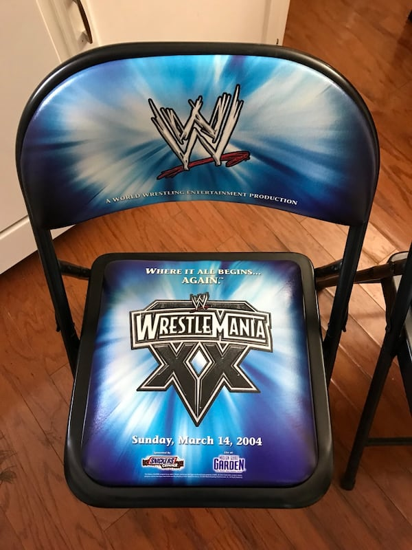 Wwe wrestle mania ringside chairs e1bfd984-3b23-4afc-93a0-5e7a01080b73