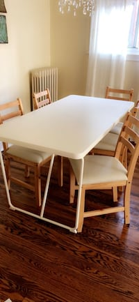 Dining table with five chairs IKEA  Toronto, M4E 2G1